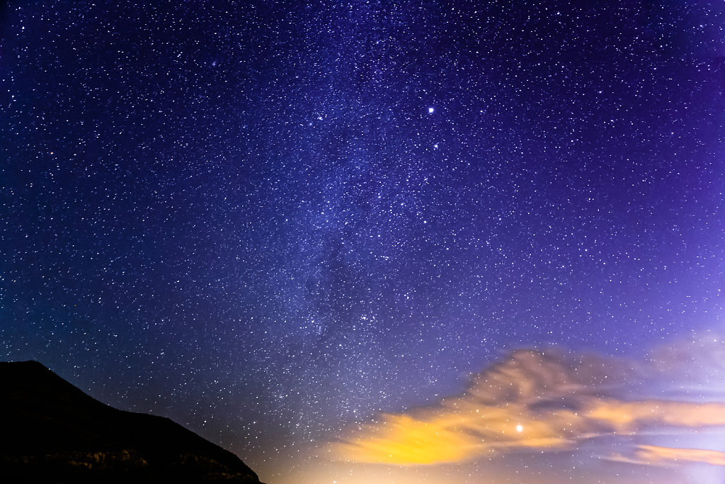 The Milky Way from Jebel Jais - 24mm f2.8 20 sec at ISO 6400