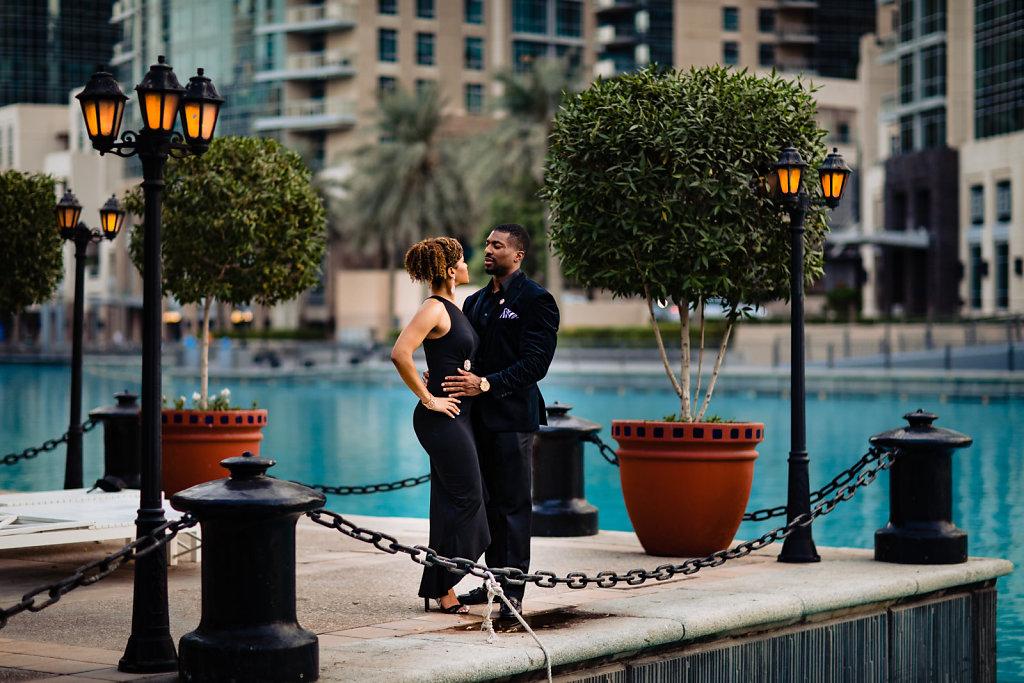 Couple Photoshot at Downtown Palace Hotel in Dubai by Kashyap Sagar